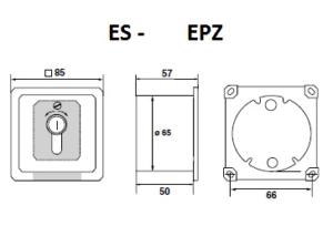 ES-EPZ 1-2T (R) 1 Schaltbild