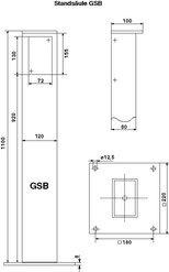 Zusatzoptionen für GSB