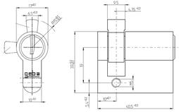 Zylinder 813AS00.00
