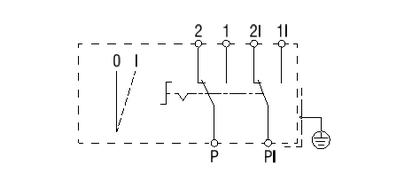 S-AKZ 1-1R/2 S-EKZ 1-1R/2 Schaltbild