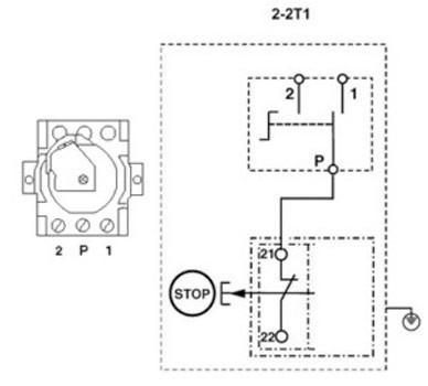 Skizze J-APZ 2-2T/1 J-EPZ 2-2T/1